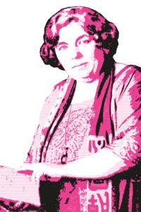 Vorlage: Deutscher Frauengeist aus Dichtung und Wissenschaft, hrsg. von Flora Zöllner, Bd. 2, Lahr 1927, S. 352a, Bestand: AddF, Kassel