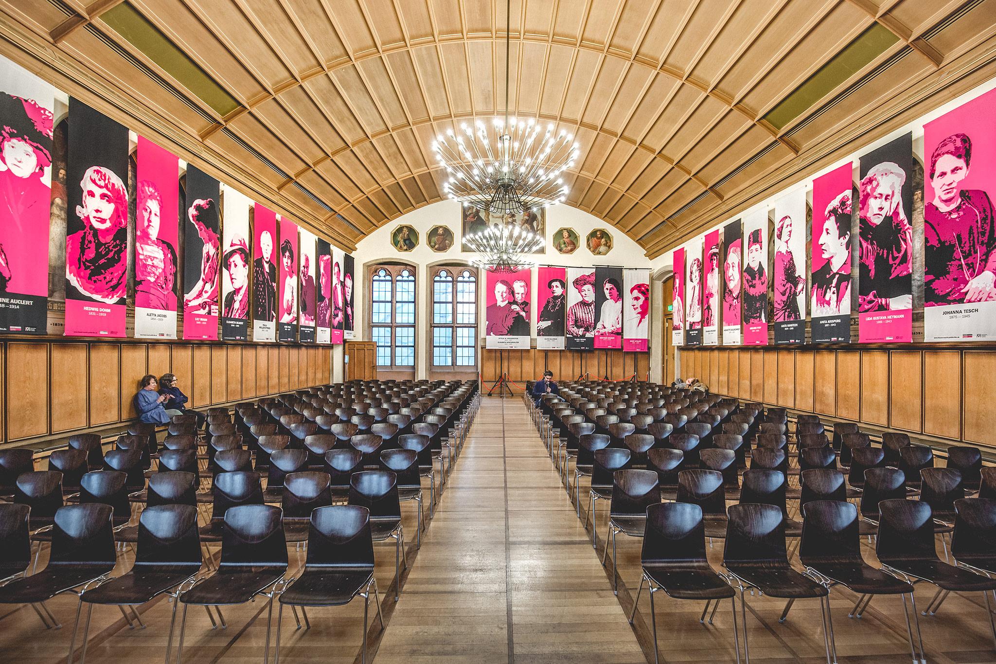 9. bis 27. März 2018: Ausstellung im Kaisersaal